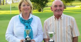 Teresa Pajón y Fernando Leiro Campeones de Galicia Senior