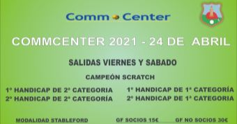 Torneo de Golf CommCenter 2021