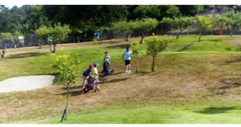 Torneo Infantil Pro-Am celebrado en El Golpe Golf