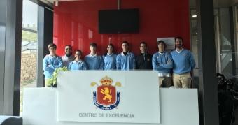 Visita al Centro de Excelencia de la RFEG 2019