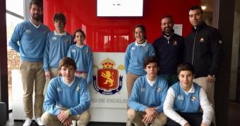 Visita de los jugadores Sub 16 al Centro de Excelencia de la RFEG