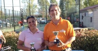 Yolanda Salgado y José A. Pérez Reñones Campeones de Pitch&Putt