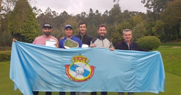 José Luis Adarraga, Campeón de Galicia  de Profesionales de Pitch&Putt
