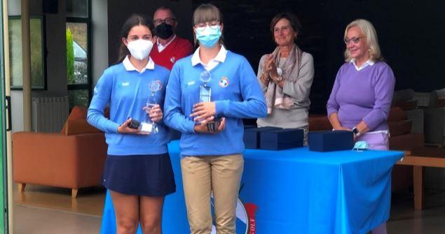 Laura Caamaño y Alba González, Campeonas de Galicia de Dobles 2019